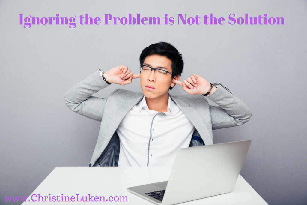 Ignoring the Problem, financial Lifeguard, Christine Luken