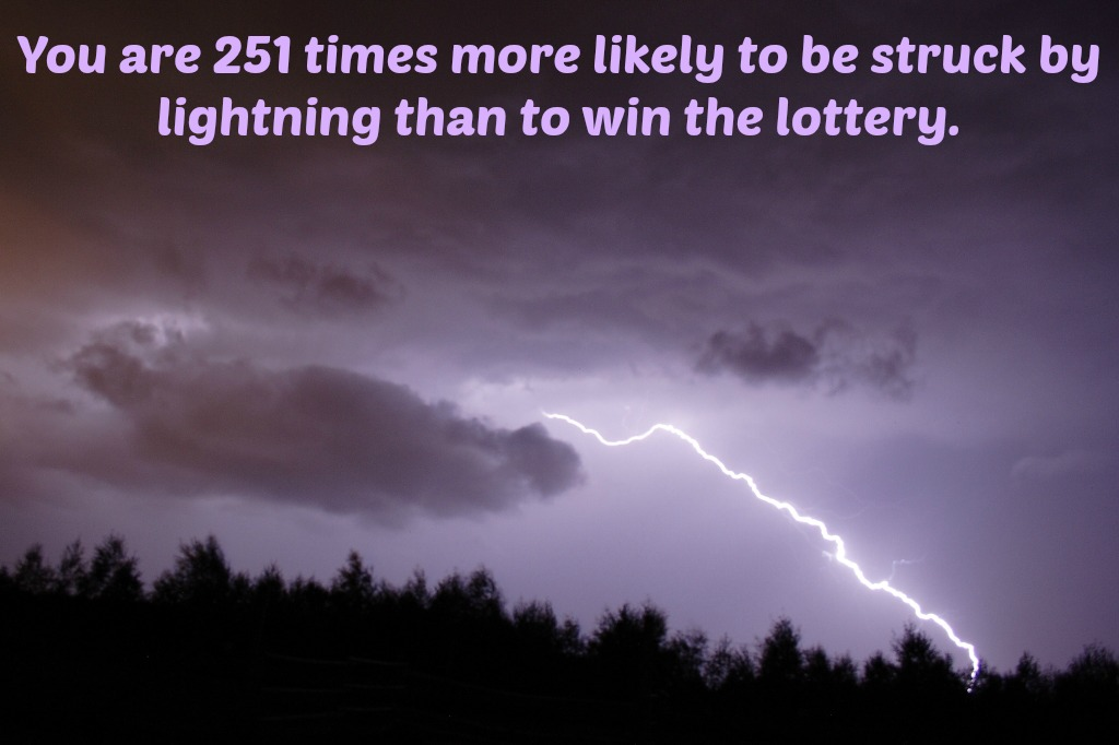 Lottery or Lightning Strike