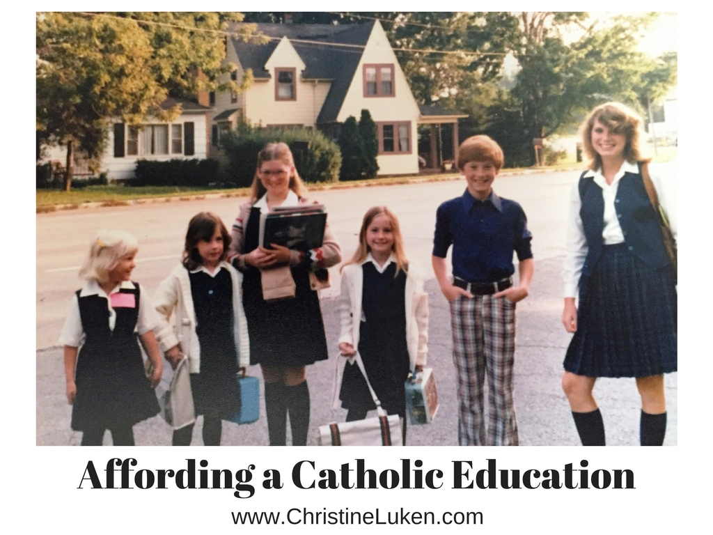 affording a Catholic education, christine luken, financial lifeguard