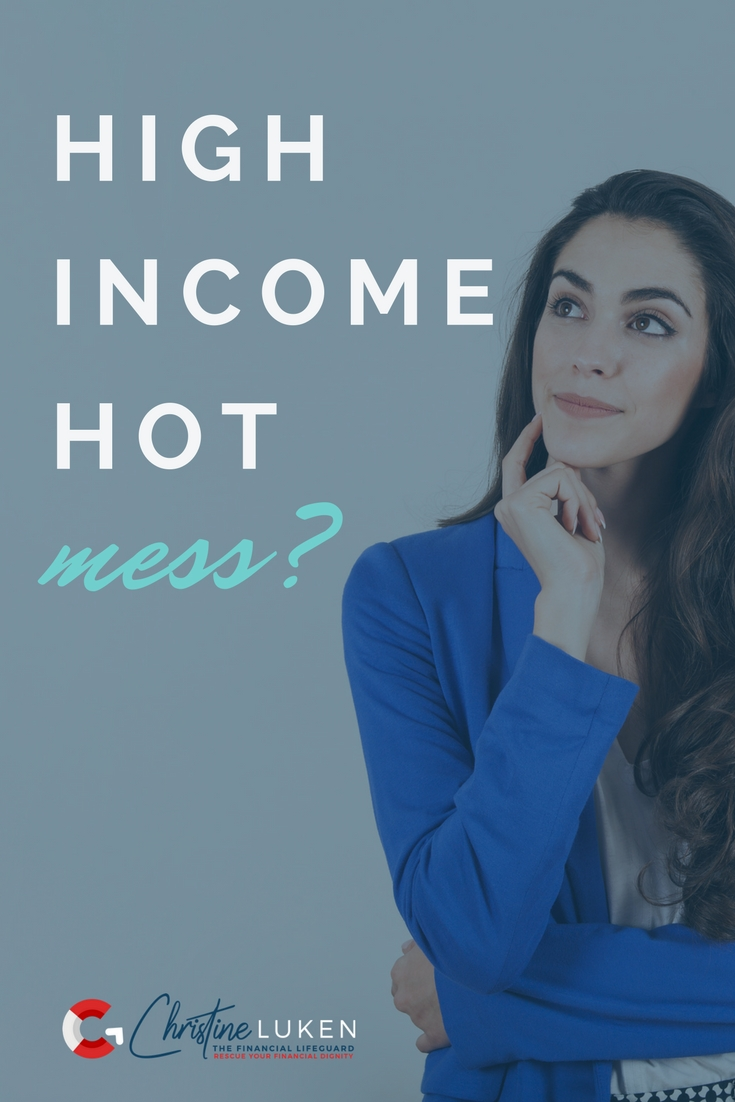 high income hot mess