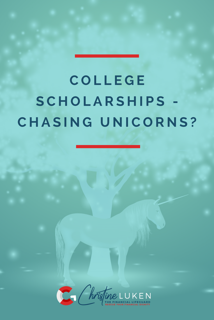 College scholarships chasing unicorns, dan bisig, christine luken, financial lifeguard