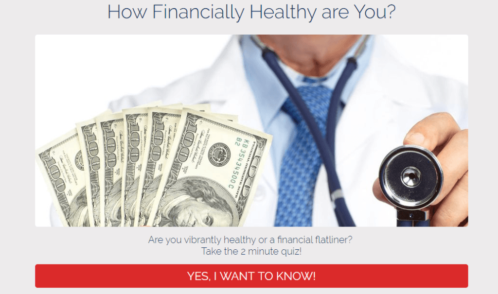 How Financially Healthy Are You Quiz