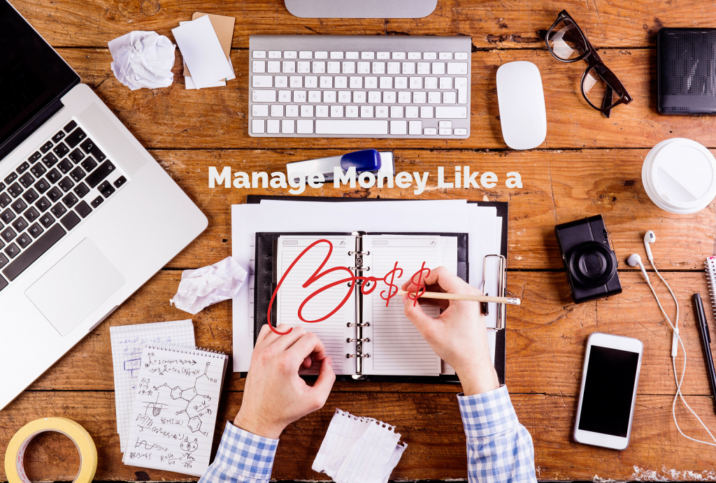 self employed creatives, manage money like a boss