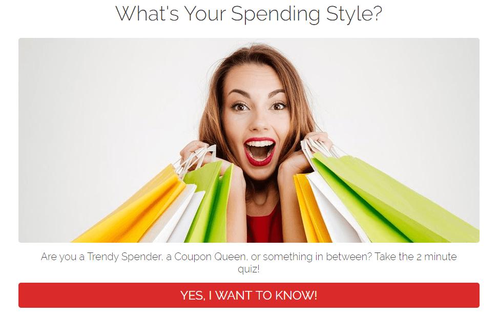 Spending Personality Quiz