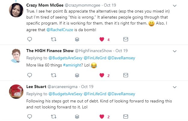 dave ramsey, christine luken, budgets are sexy