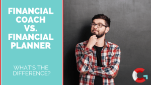 Financial Coach versus Financial Planner, what's the difference, thinking man with glasses