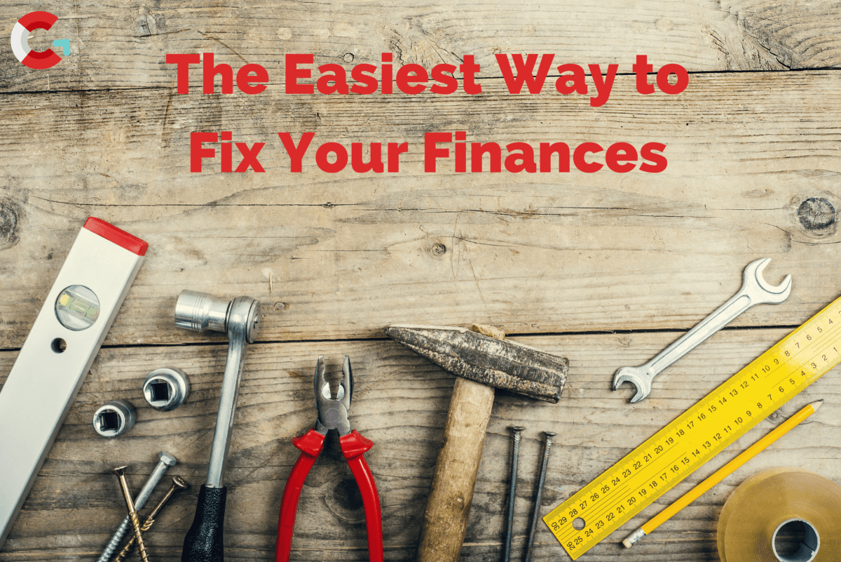 The Easiest Way to Fix Your Finances, tools on a bench