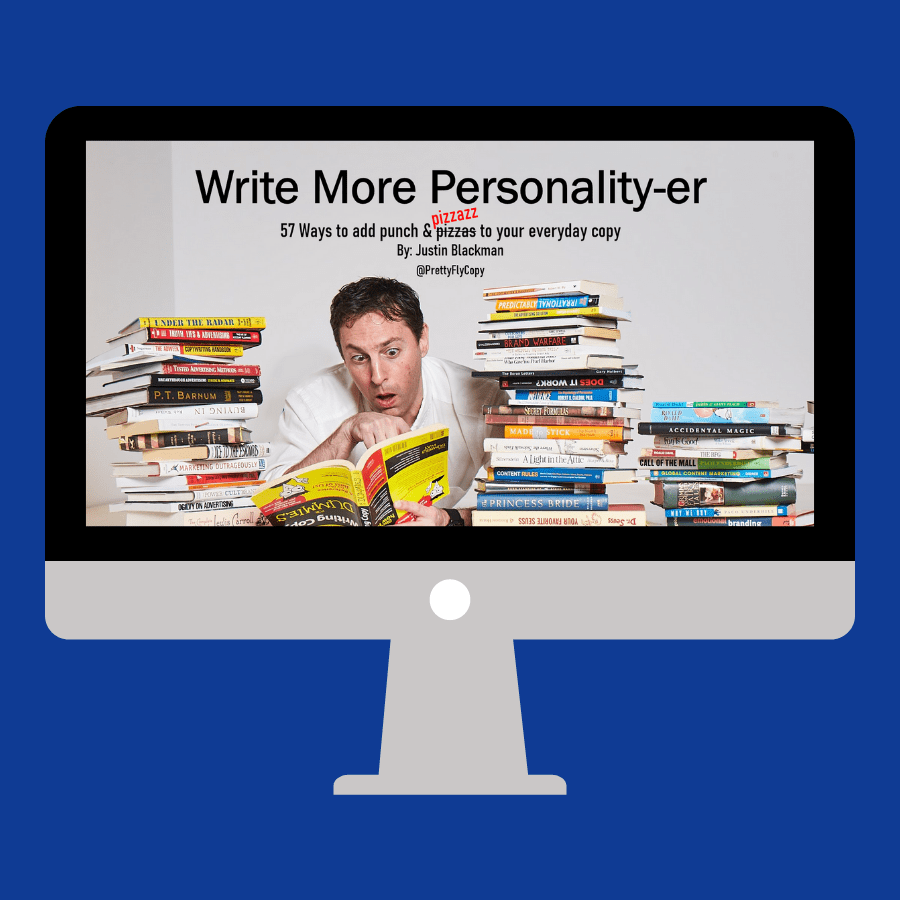 Write more Personality-er copywriting course
